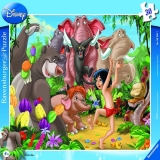 Puzzle Mowgli si Baloo, 30 piese Ravensburger