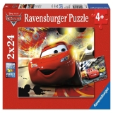 Puzzle Cars, 2x24 piese Ravensburger