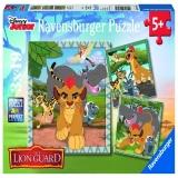 Puzzle garda felina, 3x49 piese Ravensburger
