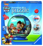 Puzzle 3D Paw patrol, 72 piese Ravensburger