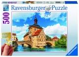 Puzzle bamberg, Bavaria, 500 piese Ravensburger