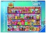 Puzzle magazinul de dulciuri, 500 piese Ravensburger