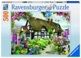 Puzzle cabana, 500 piese Ravensburger