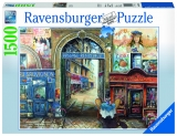 Puzzle pasaj din Paris, 1500 piese Ravensburger