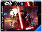 Puzzle Star wars, ep. vii, 1000 piese Ravensburger