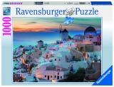 Puzzle noaptea in santorini, 1000 piese Ravensburger