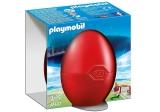Jucator de fotbal si poarta Easter Playmobil