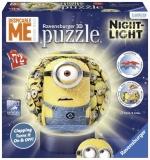 Puzzle 3D Minions cu lumina 72, piese Ravensburger