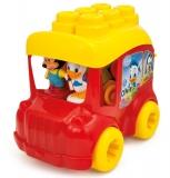 Clemmy - Autobuz Mickey Cu Cuburi Clementoni