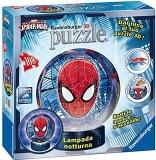Puzzle 3D Luminos Spiderman, 108 Piese Ravensburger