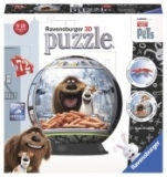 Puzzle 3D Viata Secreta A Animalelor, 72 Piese Ravensburger