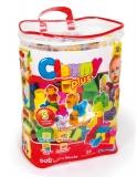 Clemmy - Plasa Cu 50 Cuburi Si 5 Figurine Clementoni