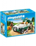 Transportor De Lemne Cu Macara Playmobil