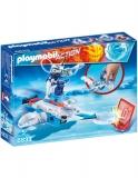 Icebot Si Lansator De Discuri Playmobil
