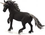 Figurina Unicorn Negru Mojo