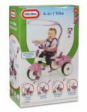 Tricicleta 4In1 Roz Little Tikes