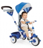 Tricicleta Perfect Fit 4In1 Albastra Little Tikes