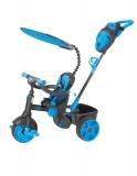 Tricicleta 4In1 Albastra Neon Little Tikes