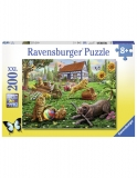 Puzzle Animalute Jucause, 200 Piese Ravensburger
