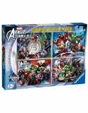 Puzzle Avengers, 4X100 Piese Ravensburger