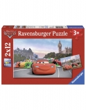 Puzzle Cars, 2X12 Piese Ravensburger