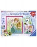 Puzzle Frozen, 3X49 Piese Ravensburger
