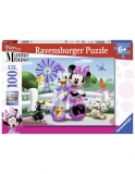 Puzzle Minnie Si Daisy, 100 Piese Ravensburger