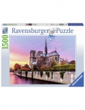 Puzzle Pictura Notre Dame, 1500 Piese Ravensburger