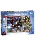Puzzle Razbunatorii, 3X49 Piese Ravensburger