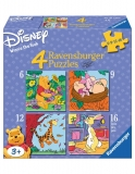 Puzzle Winnie The Pooh, 6/9/12/16 Piese Ravensburger