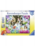 Puzzle Zane, 100 Piese Ravensburger