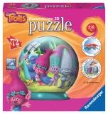 Puzzle 3D Trolls, 72 Piese Ravensburger