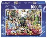 Puzzle Craciunul In Familia Disney, 1000 Piese Ravensburger