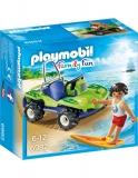 Surfer Cu Vehicul De Plaja Playmobil