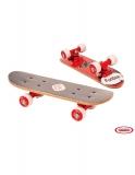 Funbee - Mini Skateboard Rosu - 43 Cm DArpeje