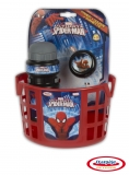 Spiderman - Accesorii Bicicleta (Cos, Sticla Apa, Clopotel) DArpeje