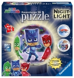 Puzzle 3D Eroi In Pijamale M1 Ravensburger