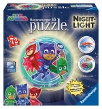 Puzzle 3D Eroi In Pijamale M2 Ravensburger
