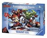 Puzzle Razbunatorii, 60 Piese Ravensburger