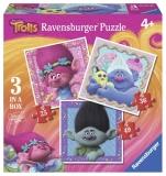 Puzzle Trolls, 25/36/49 Piese Ravensburger