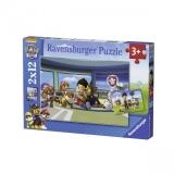 Puzzle Patrula Catelusilor,2X12 Buc Ravensburger