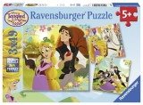 Puzzle Rapunzel, 3X49 Piese Ravensburger