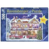 Puzzle - Casa De Craciun, 500 Piese Ravensburger